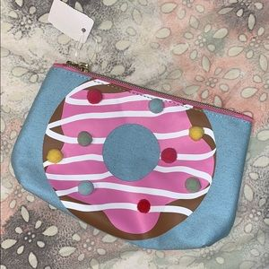 Handbags - Cosmetic Bag Donut Kill My Vibe 🍩 Poof Ball Puff